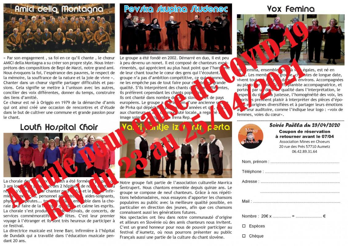 Festival mines en choeurs depliant 2020 annulation page 2