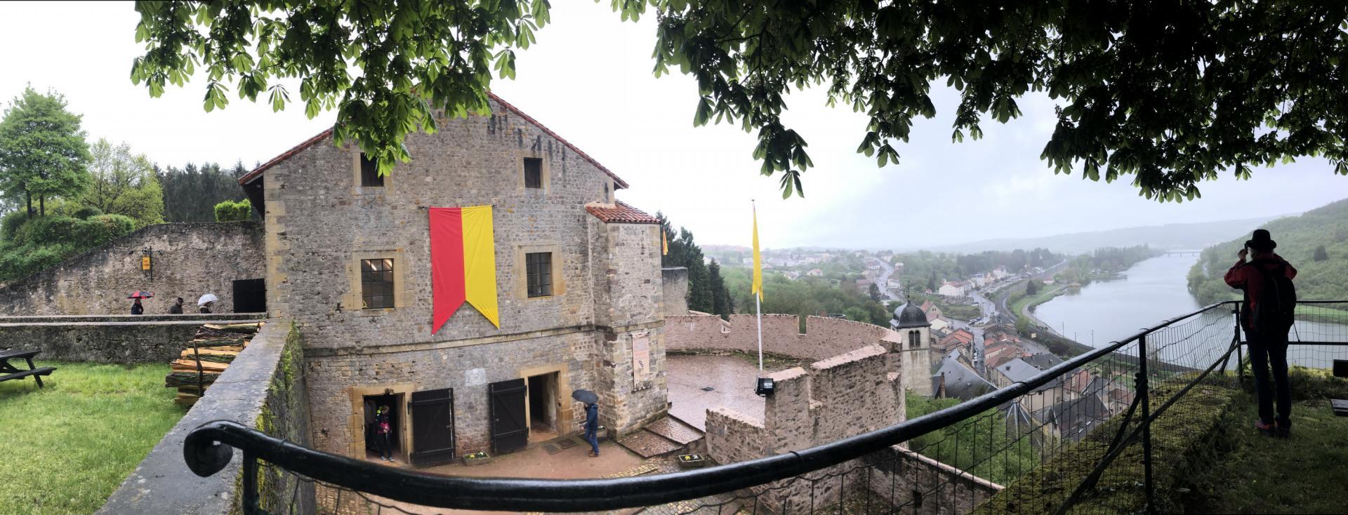 Château de Sierck et Moselle