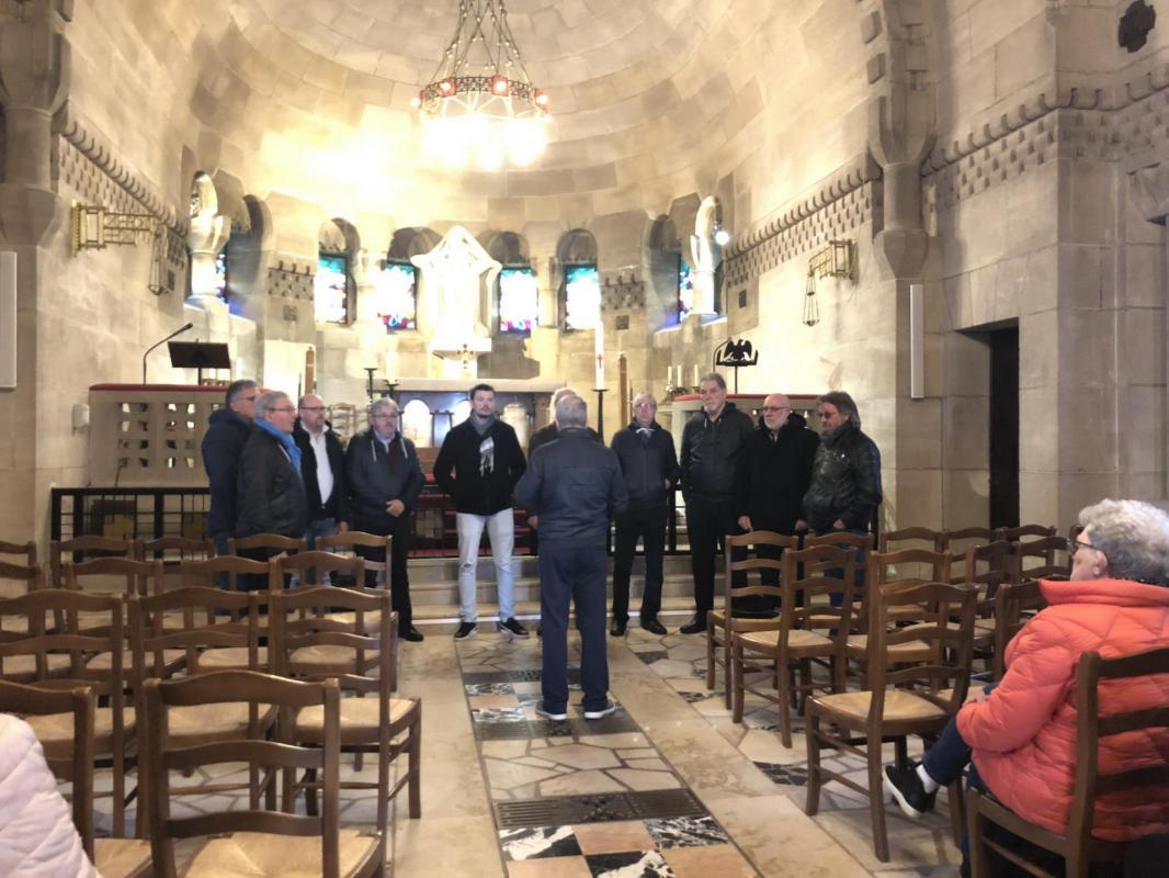 Les Voix de l'Est à la chapelle
