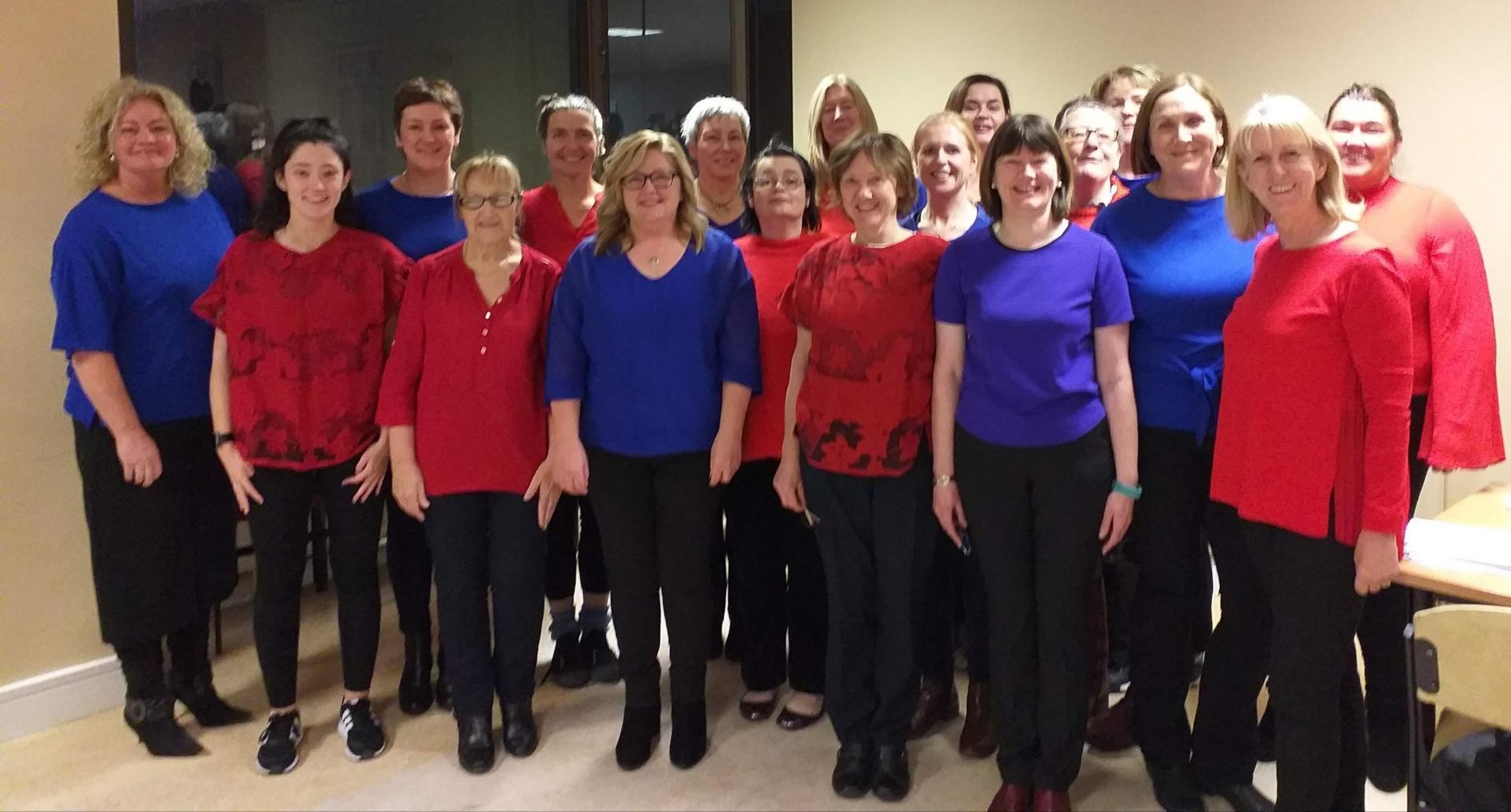 Louth hospital choir